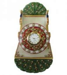Peacock Mobile Stand   Craft by artist Ecraft India   Marble