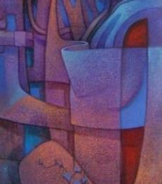 Love Is In The Air | Painting by artist Nityam Singharoy | acrylic | Canvas