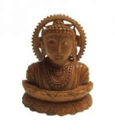 Lord-Buddha Meditation | Craft by artist Ecraft India | wood