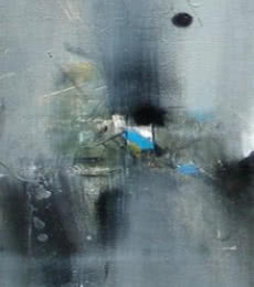 Abstract Acrylic Art Painting title Reflection by artist M Singh