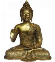 Brass Art | Blessing Buddha Craft Craft by artist Brass Art | Indian Handicraft | ArtZolo.com