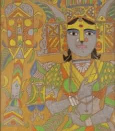 art, painting, laxma, goud, indian, master, artist
