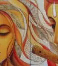 Radhe Mohan | Painting by artist Rakhi Baid | acrylic | Canvas