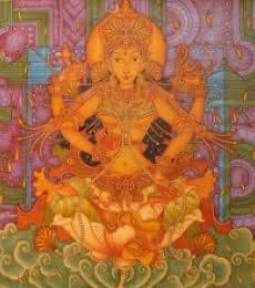 Manikandan Punnakkal Paintings | Acrylic Painting - Untitled 15 by artist Manikandan Punnakkal | ArtZolo.com