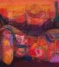 Madan Lal | Acrylic Painting title Celebration on Canvas | Artist Madan Lal Gallery | ArtZolo.com