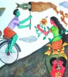 History - 6 | Painting by artist Gayatri Artist | watercolor | Paper