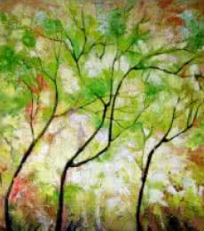 Nature 7 | Painting by artist Bahadur Singh | oil | Canvas