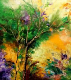 Nature 1 | Painting by artist Bahadur Singh | oil | Canvas