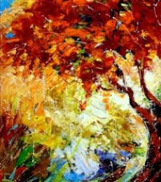 Nature 3 | Painting by artist Bahadur Singh | oil | Canvas