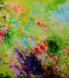 Nature Colors II   Painting by artist Bahadur Singh   oil   Canvas