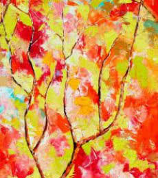 Seasons XII | Painting by artist Bahadur Singh | oil | Canvas