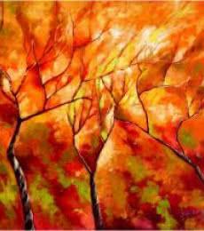 Seasons IX | Painting by artist Bahadur Singh | oil | Canvas