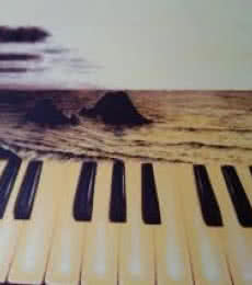 Saurab Bhardwaj | Oil Painting title The Piano on Canvas | Artist Saurab Bhardwaj Gallery | ArtZolo.com
