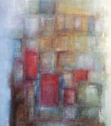 One - Rainy Secret | Painting by artist Sanjay Akolikar | oil | Canvas
