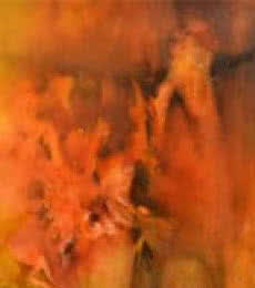 Sanjay Akolikar | Oil Painting title Composition 14 on Canvas | Artist Sanjay Akolikar Gallery | ArtZolo.com