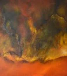 Composition-17 | Painting by artist Sanjay Akolikar | oil | Canvas