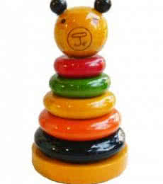Channapatna Stacking Toy II | Wood Handicraft | By Amaidi CRAFeTeria