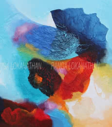 Infinity | Mixed_media by artist Ranga Naidu | Canvas