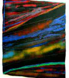 Abstract Acrylic Art Painting title 'Untitled' by artist Vidhyasagar Upadhyay