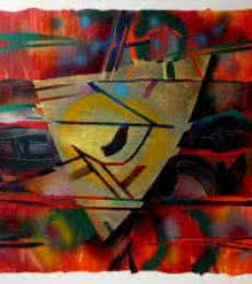 Untitled | Painting by artist Vidhyasagar Upadhyay | Acrylic | Canvas