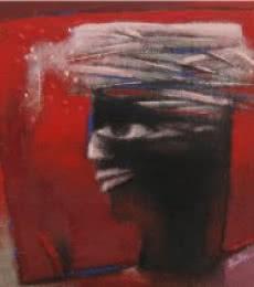 Untitled 2 | Painting by artist Pradip Kumar Sau | acrylic | Canvas