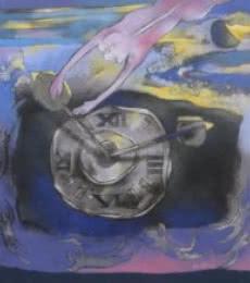Untitled 4 | Painting by artist Pradip Kumar Sau | acrylic | Canvas