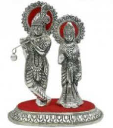 Art Street | Radha Krishna Craft Craft by artist Art Street | Indian Handicraft | ArtZolo.com