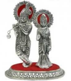 Radha Krishna | Craft by artist Art Street | Metal