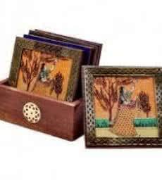 Coasters I | Craft by artist Art Street | wood