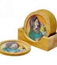 Coasters II | Craft by artist Art Street | wood