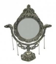Art Street | Hand Mirror Big Oval II Craft Craft by artist Art Street | Indian Handicraft | ArtZolo.com