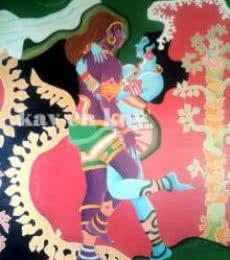 Sankarabharanam | Painting by artist Narayanankutty Kasthuril | Acrylic | Canvas Board