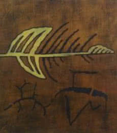 Abstract Arrow | Painting by artist Santosh More | oil | Canvas