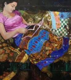 Beauty   Painting by artist Ramchandra Kharatmal   acrylic   Canvas
