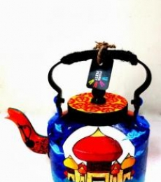 Rithika Kumar | Arabian Nights Tea Kettle Craft Craft by artist Rithika Kumar | Indian Handicraft | ArtZolo.com