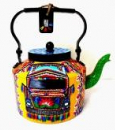 Rithika Kumar | Intrensic Tea Kettle Craft Craft by artist Rithika Kumar | Indian Handicraft | ArtZolo.com