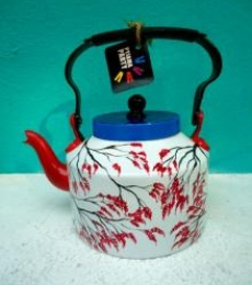 Rithika Kumar | Japanese Geisha Tea Kettle Craft Craft by artist Rithika Kumar | Indian Handicraft | ArtZolo.com