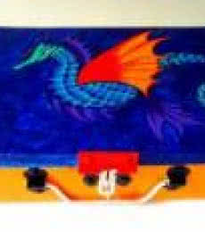 Rithika Kumar | Sea Dragon Trinket Box Craft Craft by artist Rithika Kumar | Indian Handicraft | ArtZolo.com