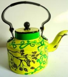 Rithika Kumar | Tree Of Life Tea Kettle Craft Craft by artist Rithika Kumar | Indian Handicraft | ArtZolo.com