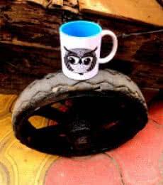 Baby Boo Boo Wheel | Craft by artist Rithika Kumar | Ceramic