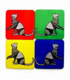 Rithika Kumar | Bela Coasters Craft Craft by artist Rithika Kumar | Indian Handicraft | ArtZolo.com