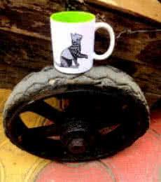 Bela Mug Wheel | Craft by artist Rithika Kumar | Ceramic