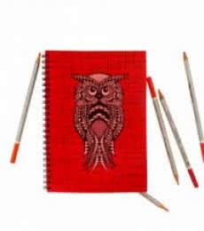 Ernie Notebook | Craft by artist Rithika Kumar | Paper