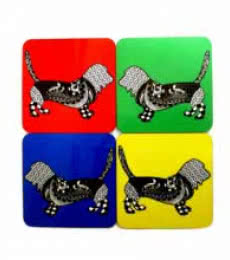 Rithika Kumar | Rufus Coasters Craft Craft by artist Rithika Kumar | Indian Handicraft | ArtZolo.com