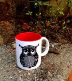 Spikey Mug | Craft by artist Rithika Kumar | Ceramic