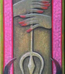 The invincible 10 | Painting by artist Anupam Pal | acrylic | Canvas