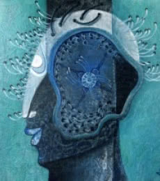 Untitled-6 | Painting by artist Anupam Pal | Acrylic | Canvas