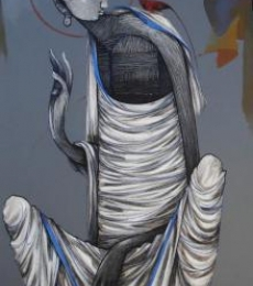 Buddha 4 | Painting by artist Sanjay Sable | acrylic | Canvas