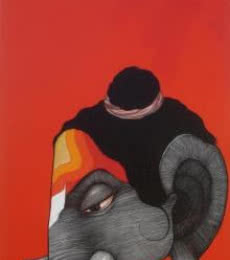 Buddha 5 | Painting by artist Sanjay Sable | acrylic | Canvas