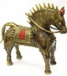 Ashvamedha Yagna | Craft by artist Kushal Bhansali | Brass
